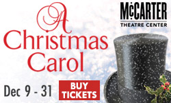 McCarter Presents A Christmas Carol